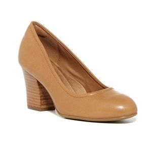NIB Sofft Palisade Tan Leather Pumps Size 7.5